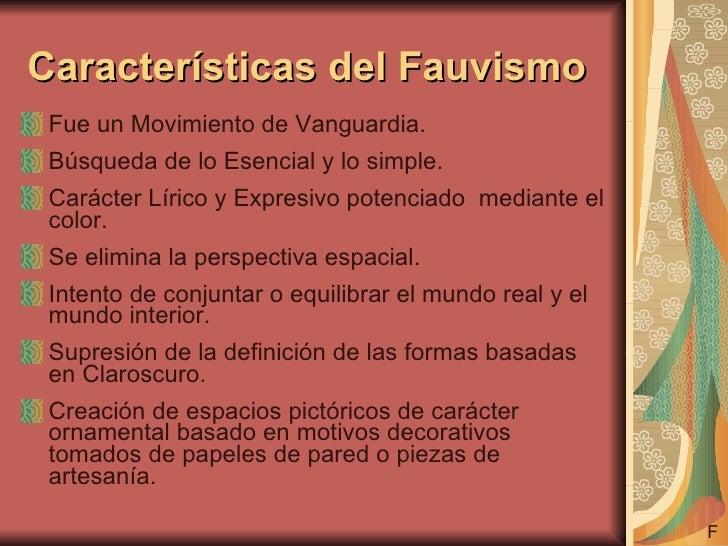 El fauvismo for Ornamental definicion