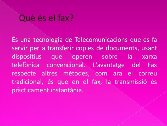 el fax inés