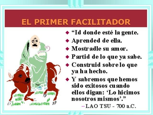 EL PRIMER FACILITADOR
