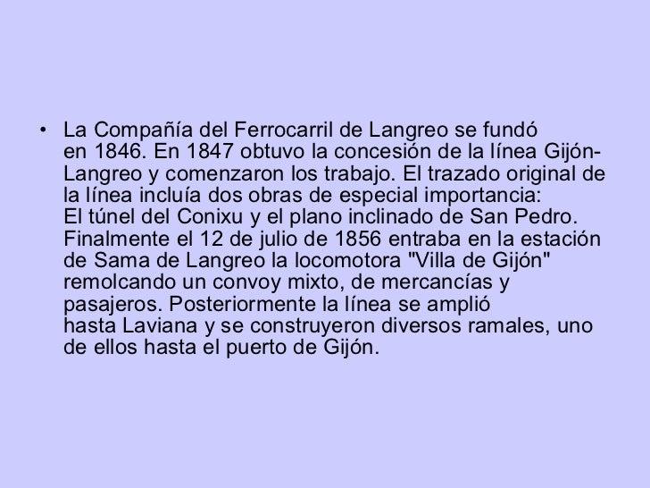 El ferrocarril de langreo - Puerto de gijon empleo ...