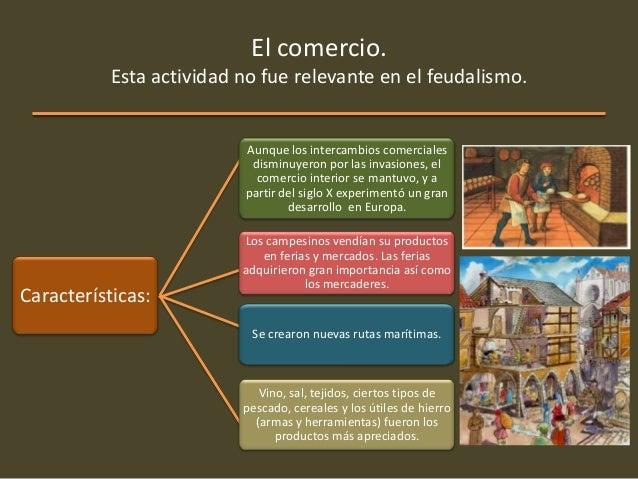 El feudalismo for Que es el comercio interior