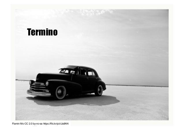 Flamin Mo CC 2.0 by-nc-sa https://flic.kr/p/cUa8AN Termino