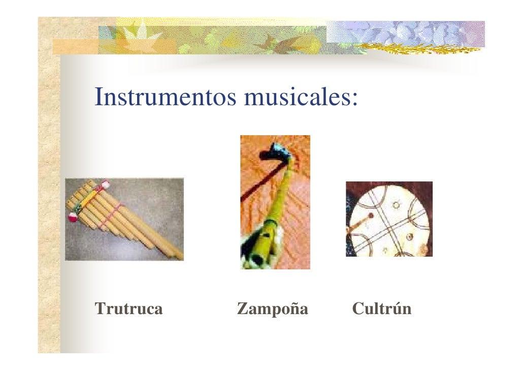 El folclor - Instrumentos musicales leganes ...