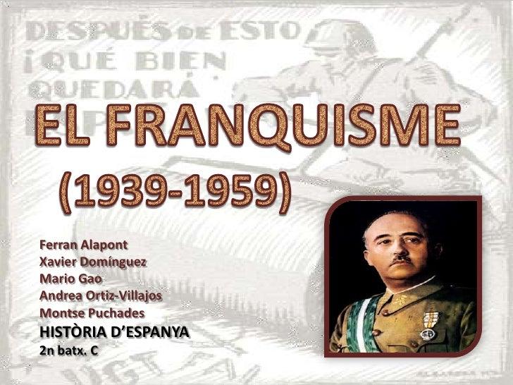 Ferran AlapontXavier DomínguezMario GaoAndrea Ortiz-VillajosMontse PuchadesHISTÒRIA D'ESPANYA2n batx. C