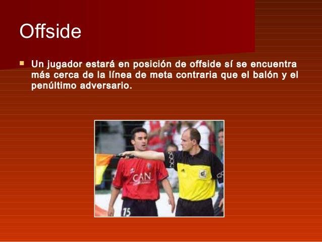 El f tbol for Offside en el futbol