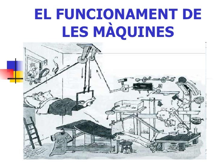 EL FUNCIONAMENT DE LES MÀQUINES