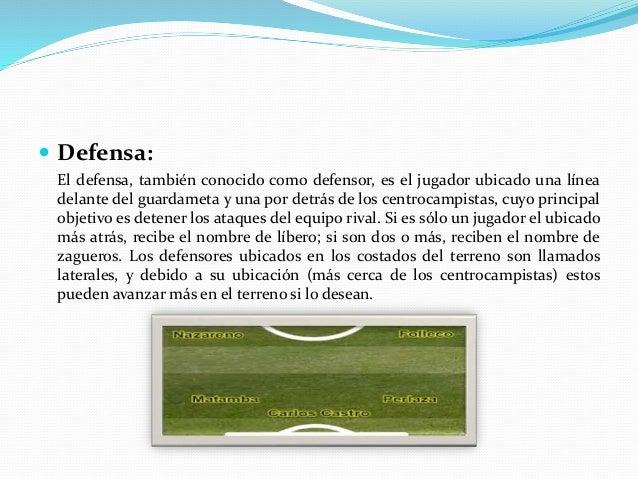  Centrocampista: El centrocampista, también conocido como mediocampista o volante, es el jugador ubicado en la zona del c...