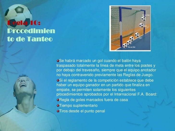 El futbol for Regla de fuera de juego en futbol