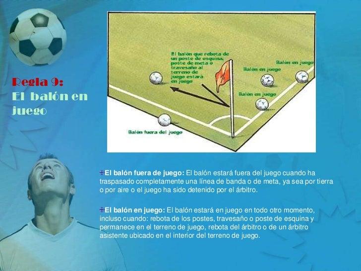 Todo sobre el futbol for Regla de fuera de juego en futbol