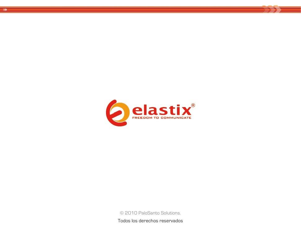 El Futuro de Elastix