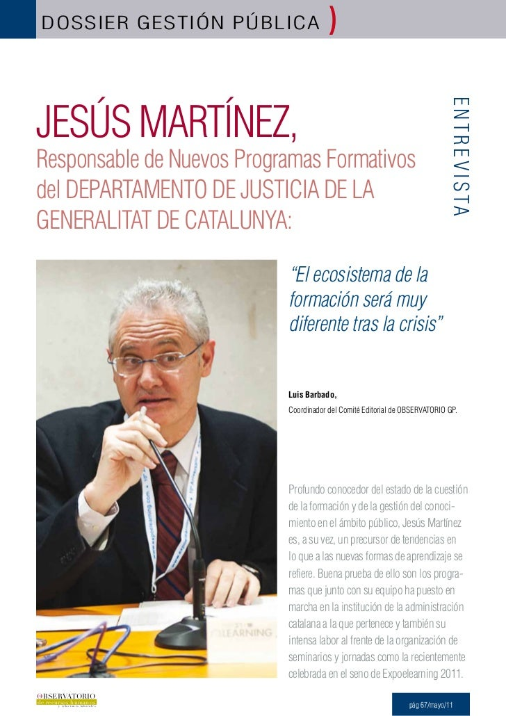 DOSSIER GESTIÓN PÚBlICA                  )JESÚS MARTÍNEZ,                                                                 ...