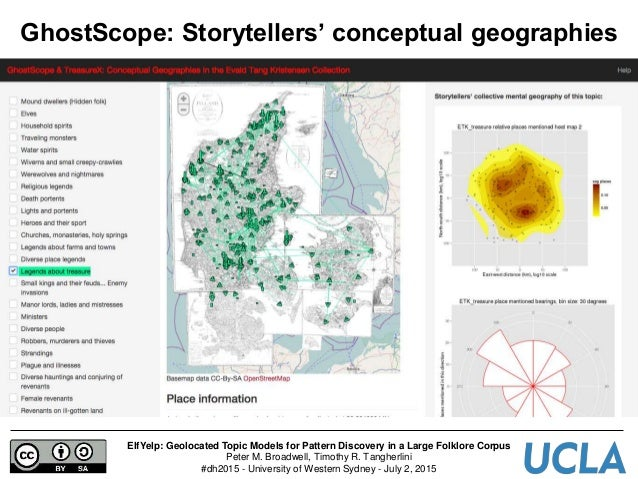 ElfYelp: Geolocated Topic Models for Pattern Discovery in a