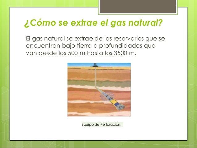 El gas natural en la econom a nacional y su implicaci n en for Como se obtiene el marmol