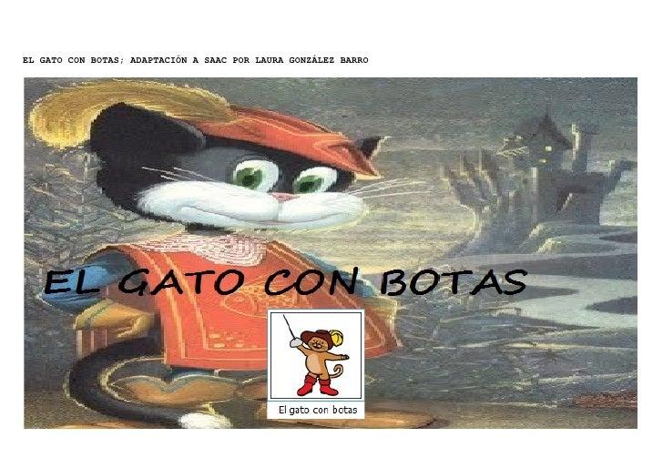 EL GATO CON BOTAS; ADAPTACIÓN A SAAC POR LAURA GONZÁLEZ BARRO