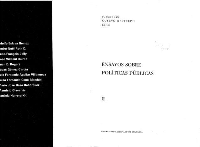 El giro argumentativo del análisis de políticas públicas ¿El lugar de la política en las políticas?