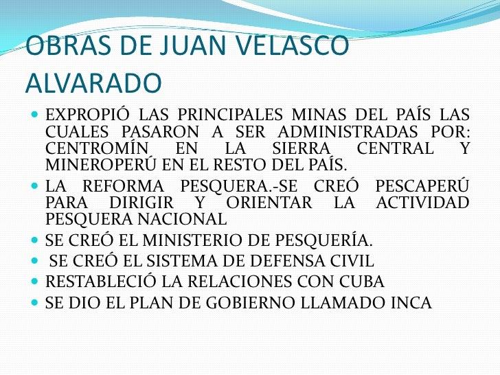 El gobierno revolucioanrio de las fuerzas armadas for Ministerio de pesqueria