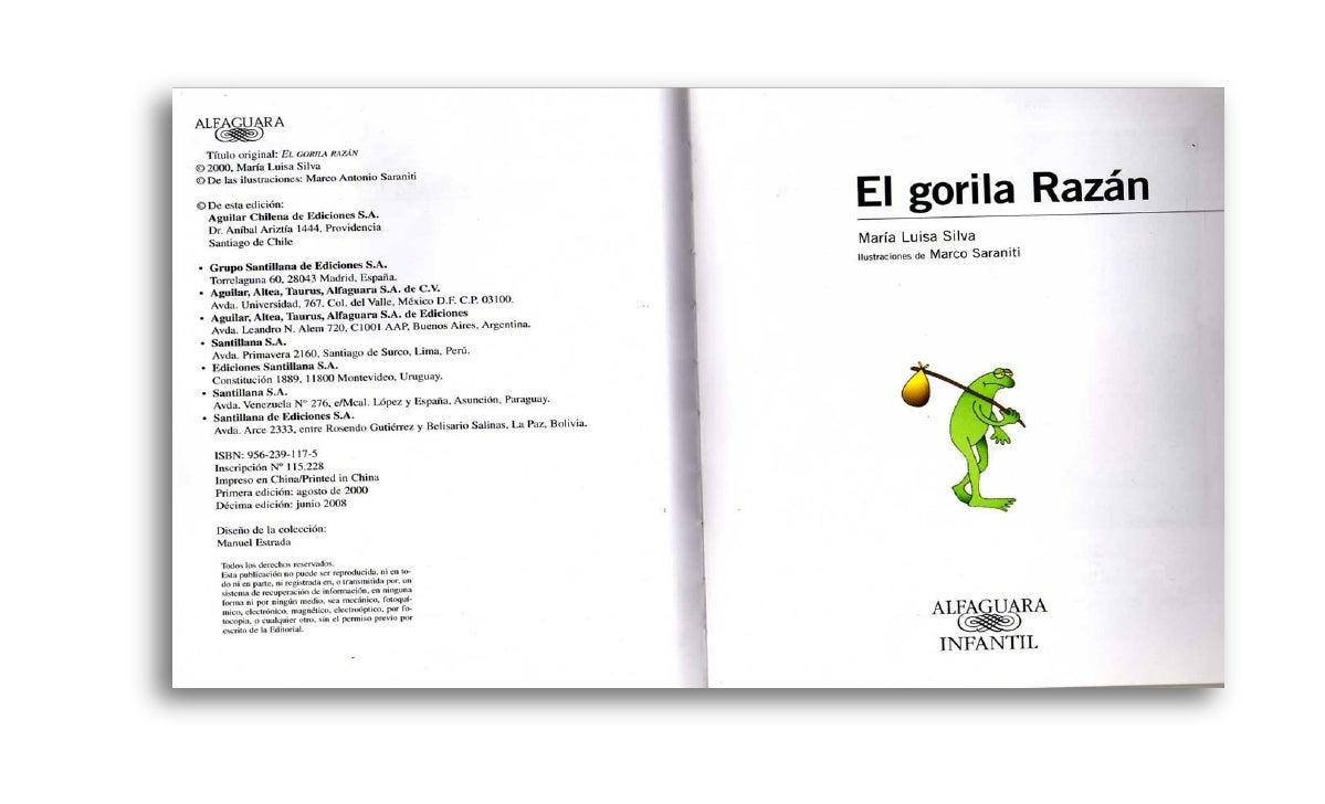DESCARGAR GRATIS LIBRO EL GORILA RAZAN PDF