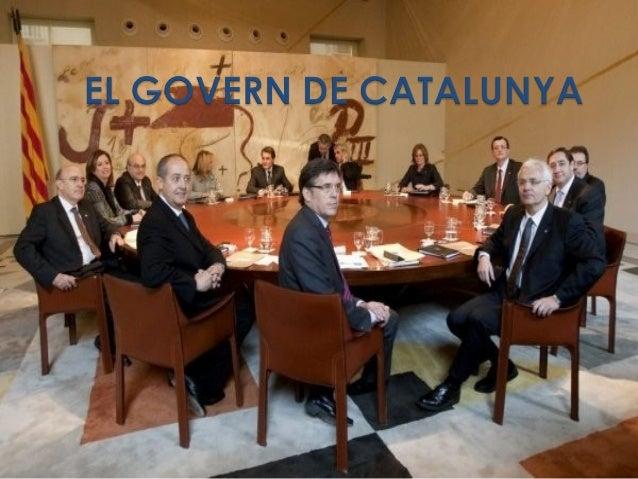 El Govern és una de les institucions que formen part de la Generalitat de Catalunya. És l'encarregat de decidir quines cos...