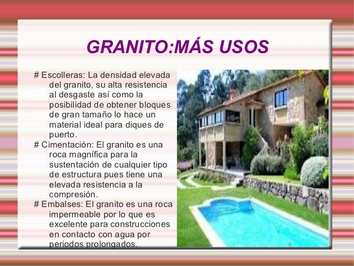 El granito materiales de construcci n mbito pr ctico for Densidad del marmol