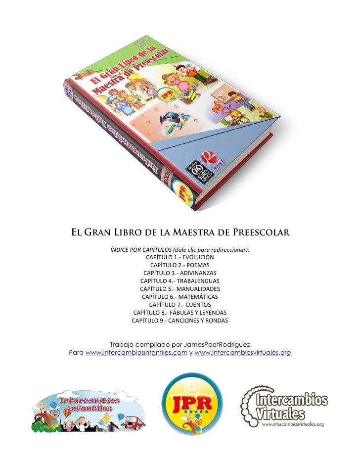 El gran libro de la maestra de preescolar   by jpr