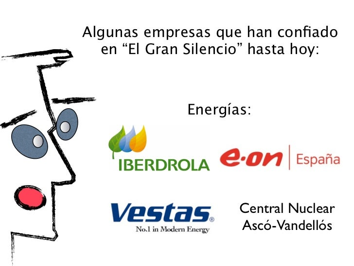 """Algunas empresas que han confiado  en """"El Gran Silencio"""" hasta hoy:     Hospitales y Ayuntamientos:         Hospital       ..."""