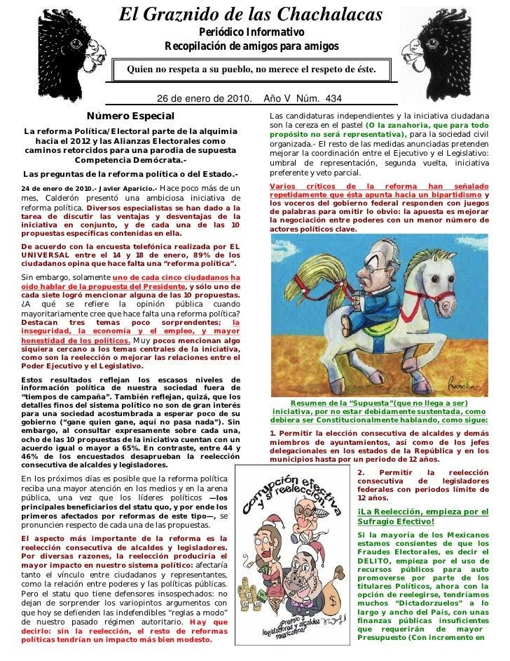 El Graznido de las Chachalacas                              0                                                   Periódico ...