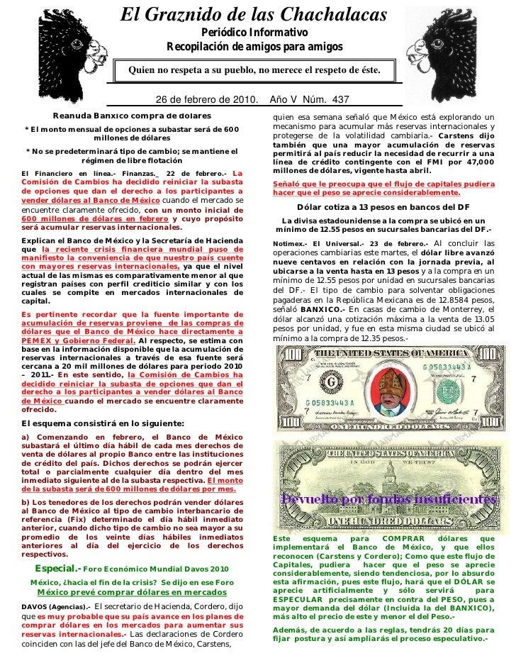 El Graznido de las Chachalacas                            0                                               Periódico Inform...