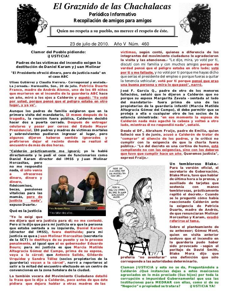 El Graznido de las Chachalacas                             0                                               Periódico Infor...
