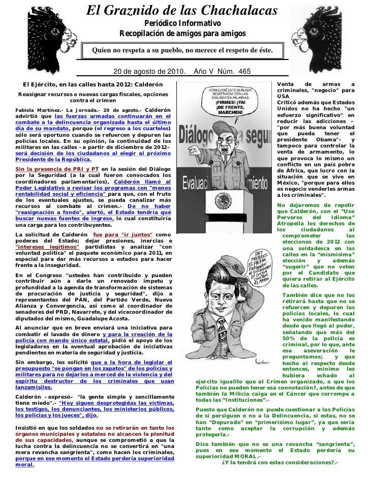 El Graznido de las Chachalacas                           0                                             Periódico Informati...