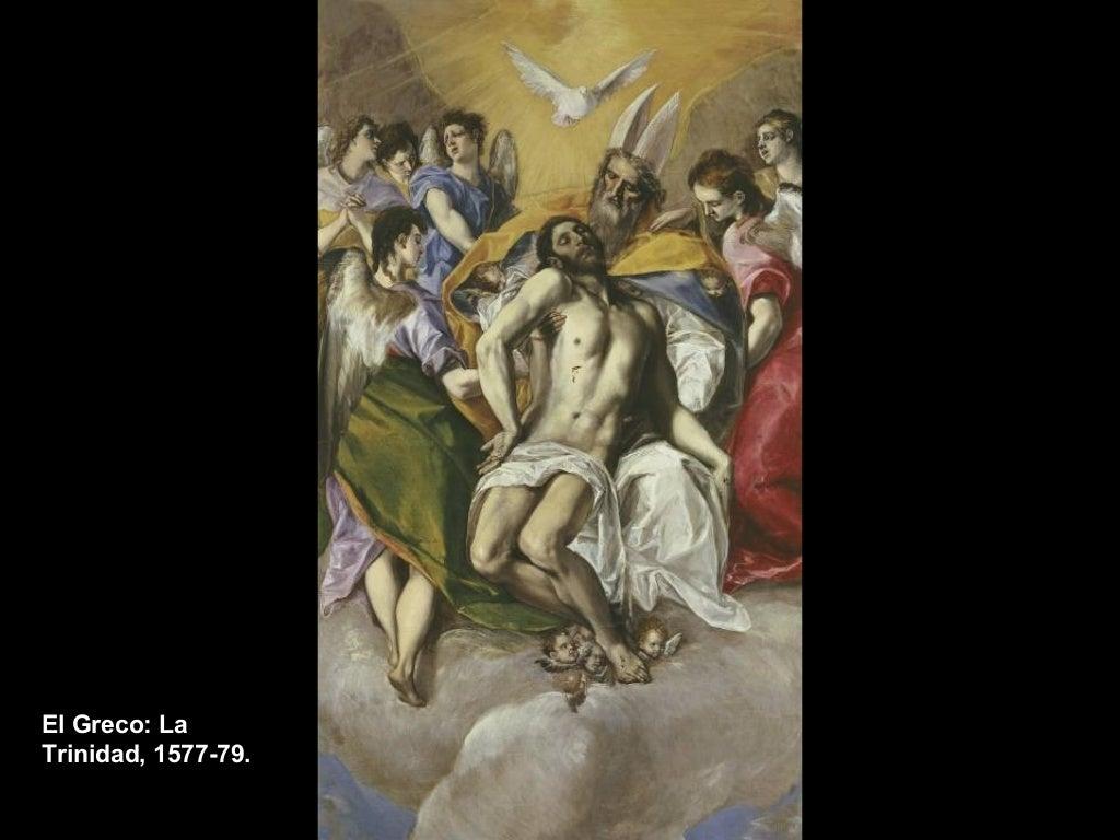 El Greco: La  Trinidad, 1577-79.