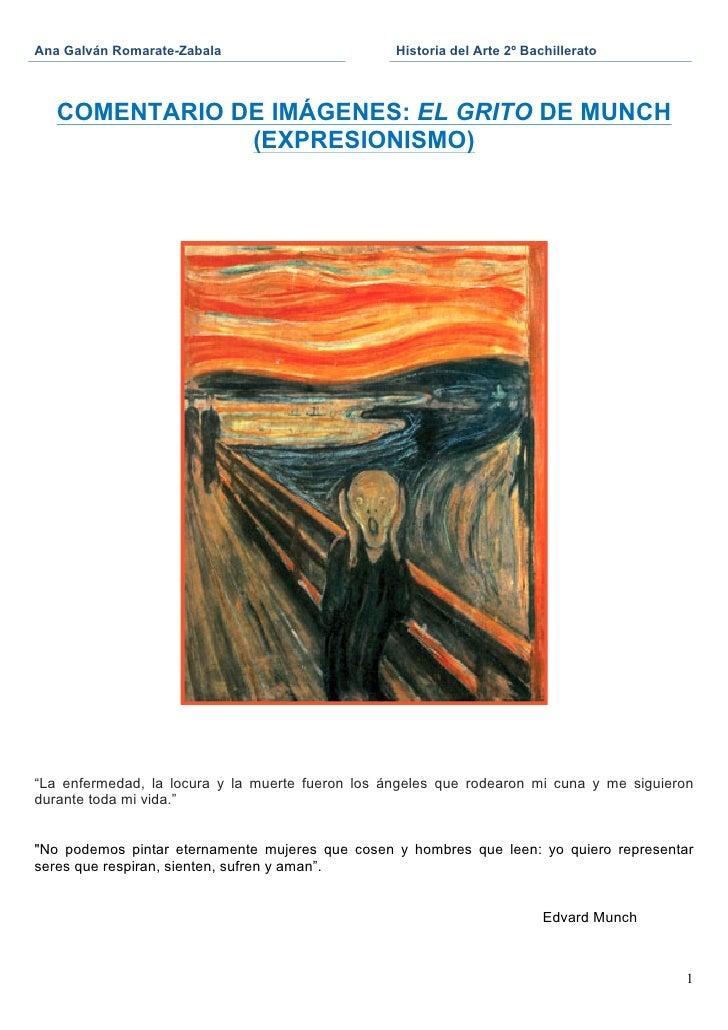 Ana Galván Romarate-Zabala                         Historia del Arte 2º Bachillerato                                    ...