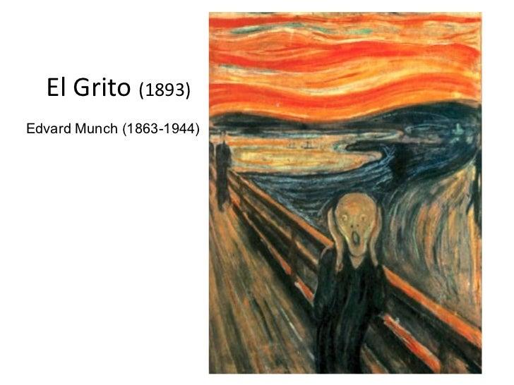El Grito (1893)Edvard Munch (1863-1944)