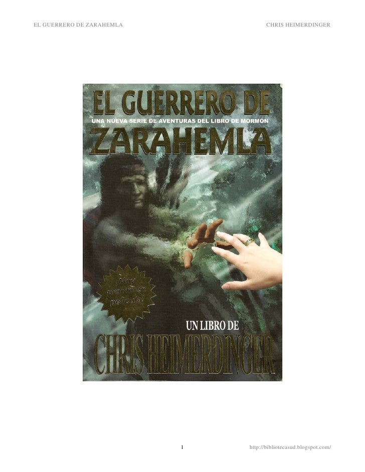 EL GUERRERO DE ZARAHEMLA             CHRIS HEIMERDINGER                                1   http://bibliotecasud.blogspot.c...