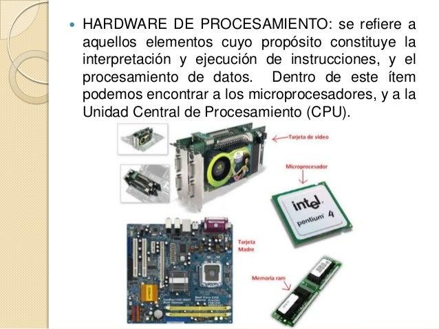 El hardware for Elementos de hardware