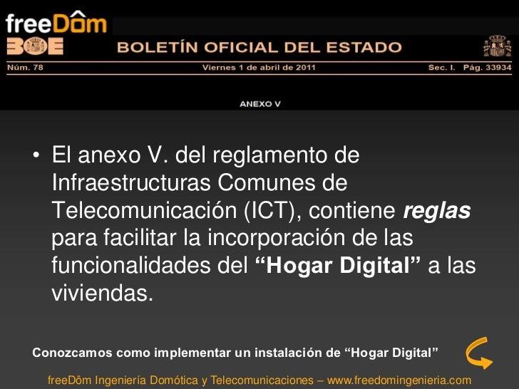 El hogar digital en la ict Slide 2