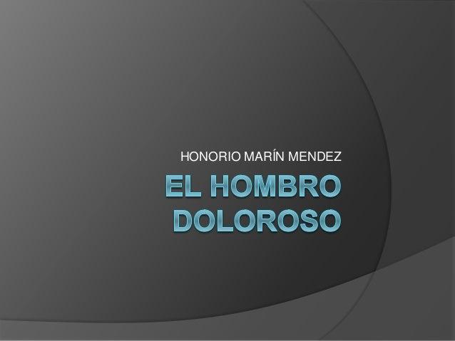 HONORIO MARÍN MENDEZ