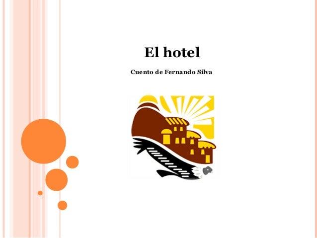 El hotelCuento de Fernando Silva