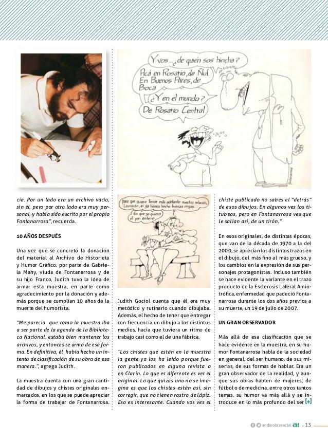 """. 13andarobrasocial chiste publicado no sabés el """"detrás"""" de esos dibujos. En algunos ves los ti- tubeos, pero en Fontanar..."""