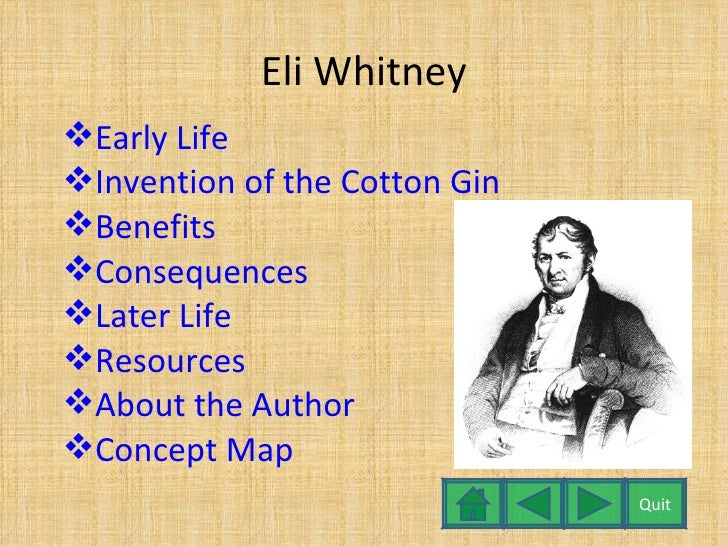 The early life inventions and influence of eli whitney