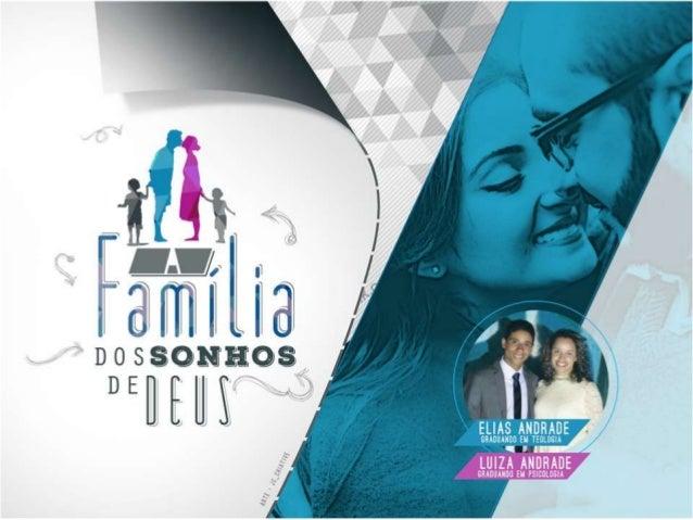 Palestra para Igrejas - A Família dos Sonhos de Deus