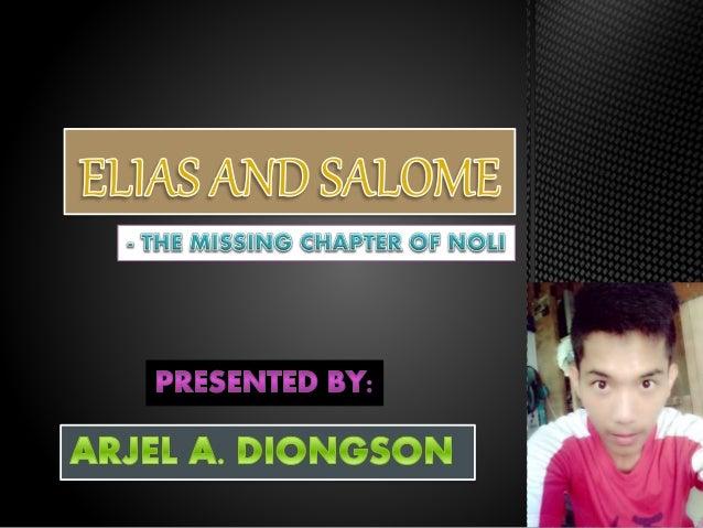 elias and salome Eliasi at salome (binigyan ng modipikasyon mula sa salin sa orihinal na tagalog ni gg luz sanchezcastañeda) kung ang mga mararangal na guwardia sibil, pagkatapos.