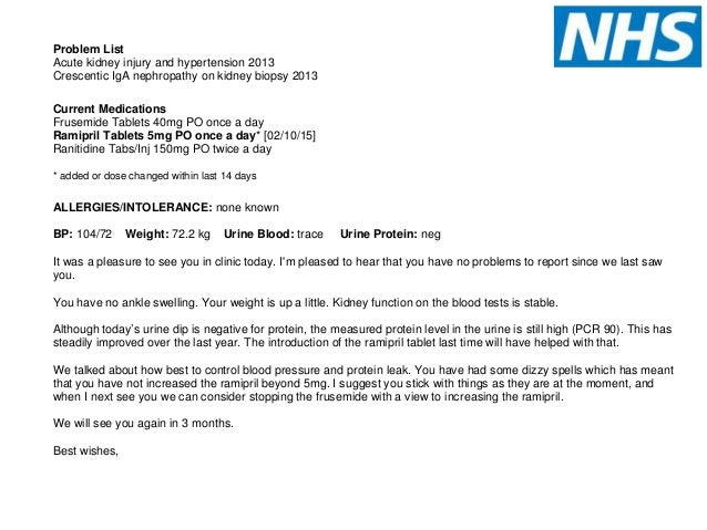 nhs patient appointment letter template best free
