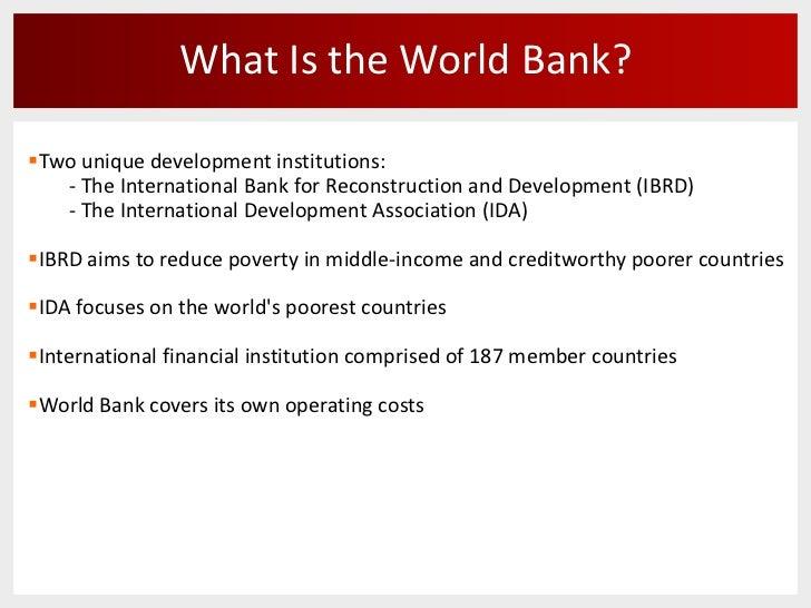 WORLD BANK PROFILE PDF DOWNLOAD