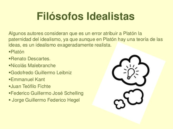 IDEALISMO DEFINICION EBOOK