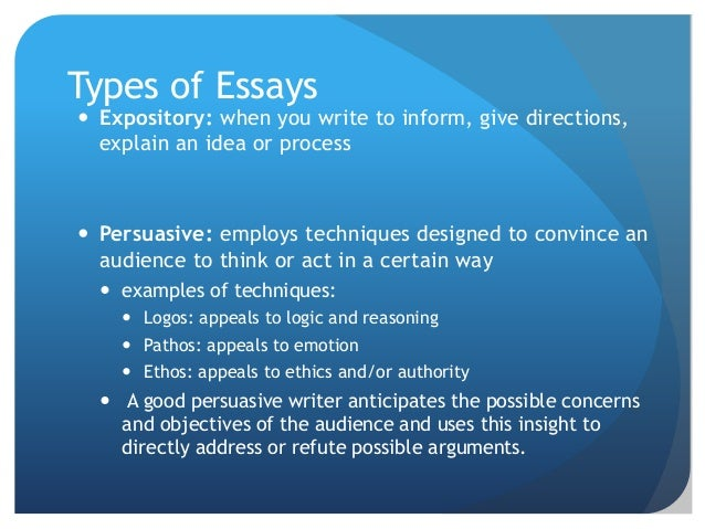 expository essay topics college students
