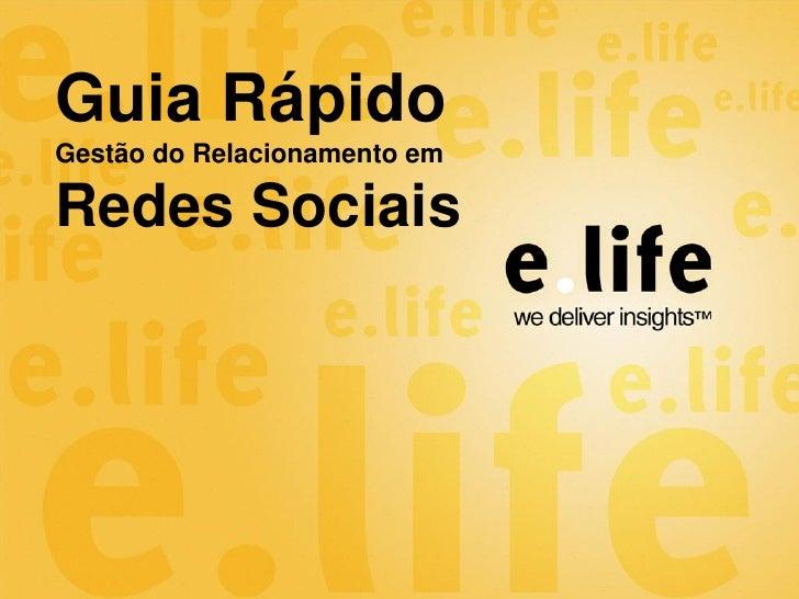 Elife - SocialCRM