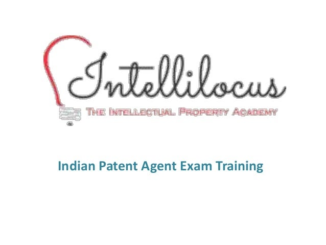 Indian Patent Agent Exam Training