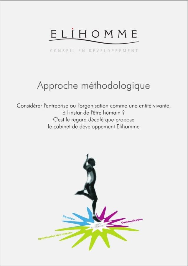 Elihomme méthodologie