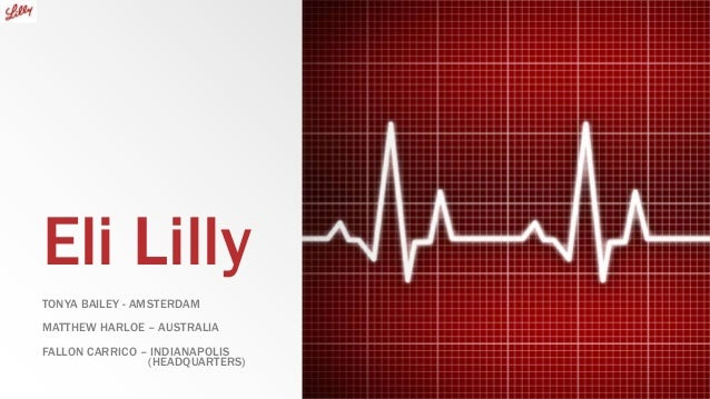 Eli lilly final ppt