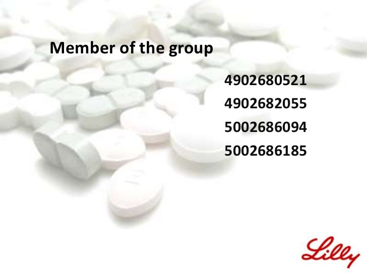 eli lilly developing cymbalta case study Access to case studies expires six months after purchase date publication date:  november 27, 2006 anticipating the expiration of its prozac patent, eli lilly has.